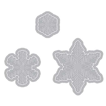Hero Arts PAPER LAYERING SNOWFLAKE DIES with Frame DI196