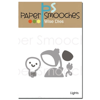 Paper Smooches LIGHTS Wise Dies A2D337