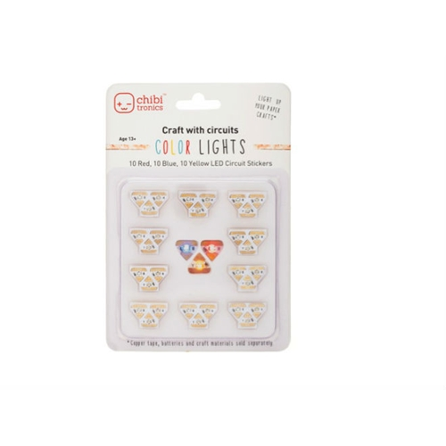 Chibitronics COLOR LED CIRCUIT LIGHTS Stickers 675339 Preview Image