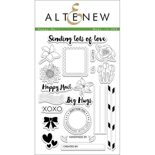 Altenew HAPPY MAIL Clear Stamp Set ALT1078 Preview Image