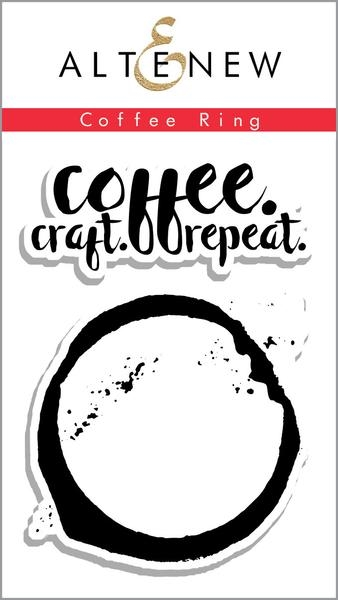 Altenew Coffee Ring Clear Stamp