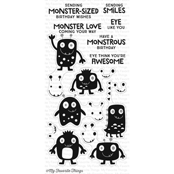 My Favorite Things MONSTER LOVE Clear Stamps CS138