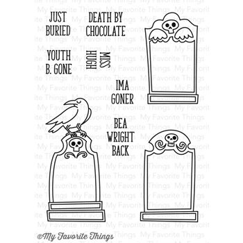 My Favorite Things GRAVE SITUATION Clear Stamps CS140