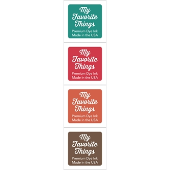 My Favorite Things CUBE 2 Four Piece Set Premium Dye Ink 14417