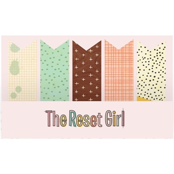 Simple Stories THE RESET GIRL Page Flags 4985