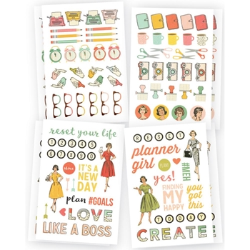 Simple Stories THE RESET GIRL Icon Stickers 4991