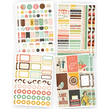 Simple Stories THE RESET GIRL Planner Basics Stickers 4992