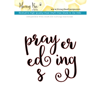 Honey Bee PRAYERS Dies HBDS27