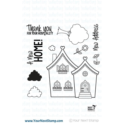 Your Next Stamp CUTE HOME Clear CYNS423 Preview Image