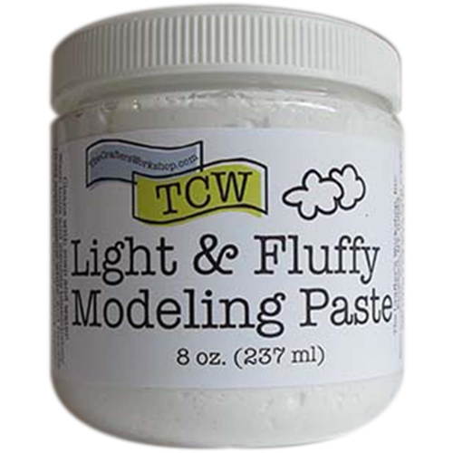The Crafter's Workshop LIGHT AND FLUFFY MODELING PASTE TCW9004 Preview Image