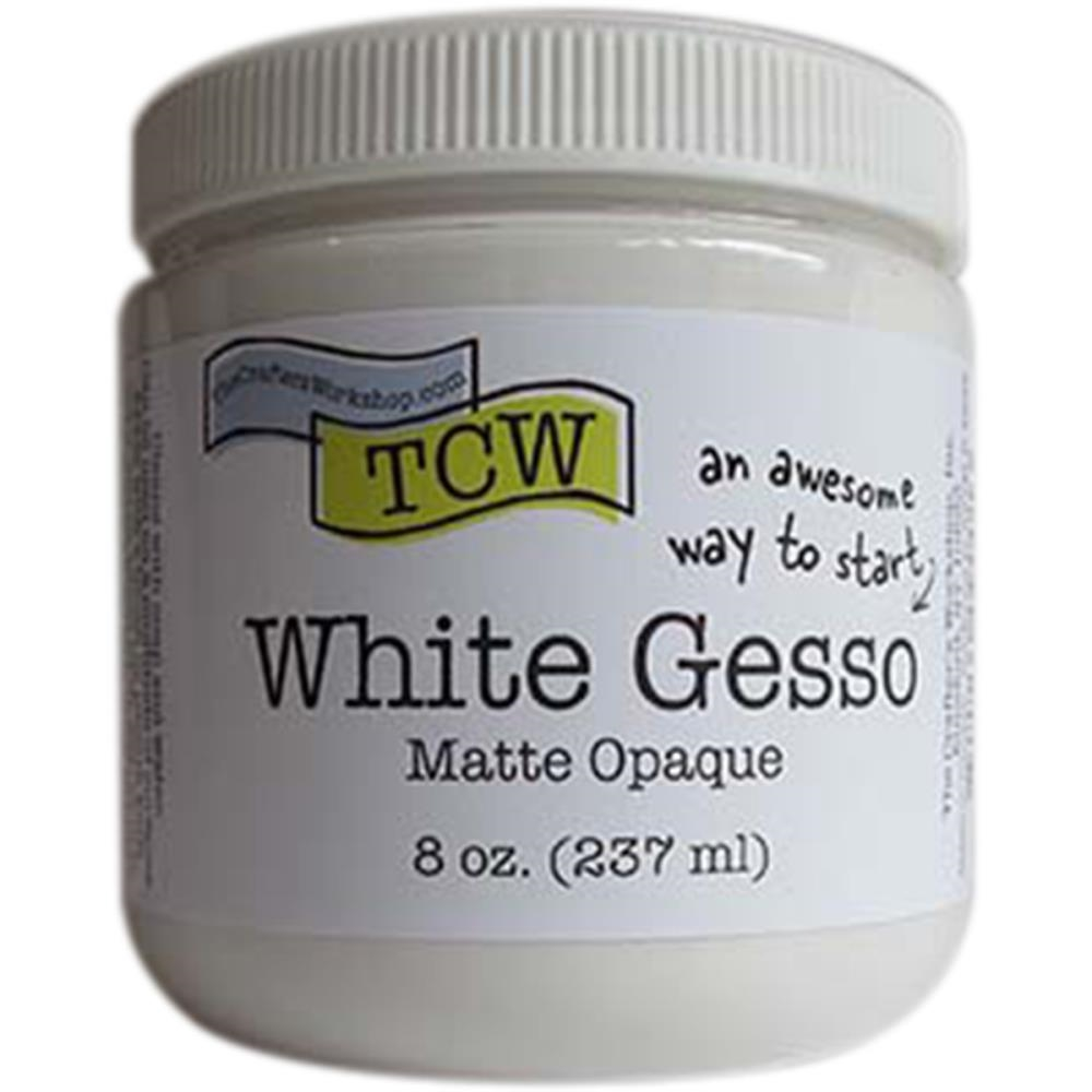 The Crafter's Workshop WHITE GESSO Matte Opaque TCW9001 zoom image