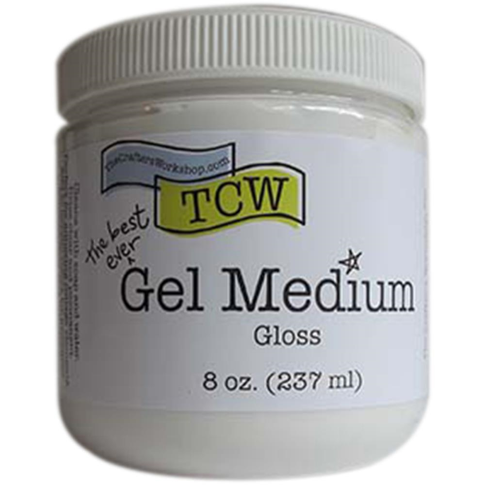 The Crafter's Workshop CLEAR GEL MEDIUM Gloss TCW9006 zoom image