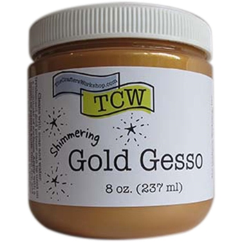 The Crafter's Workshop GOLD GESSO TCW9003