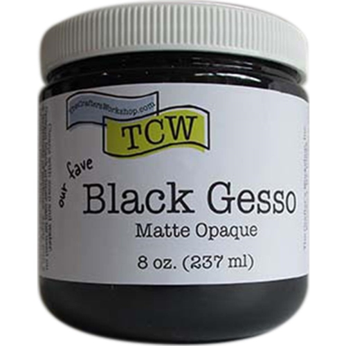 The Crafter's Workshop BLACK GESSO Matte Opaque TCW9002 Preview Image