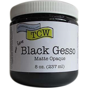 The Crafter's Workshop BLACK GESSO Matte Opaque TCW9002
