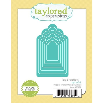 Taylored Expressions TAG STACKLETS 1 Die Set TE171