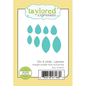 Taylored Expressions ON A LIMB - LEAVES Die Set TE922