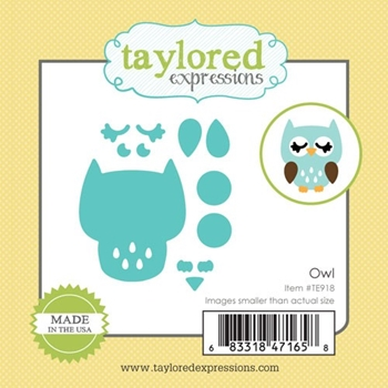 Taylored Expressions Little Bits OWL Die Set TE918