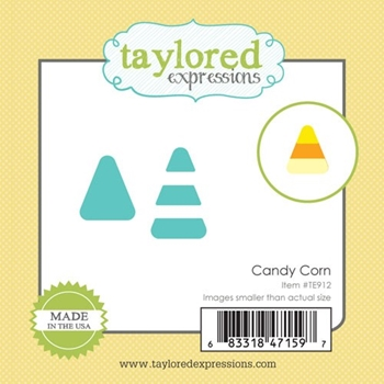 Taylored Expressions Little Bits CANDY CORN Die Set TE912