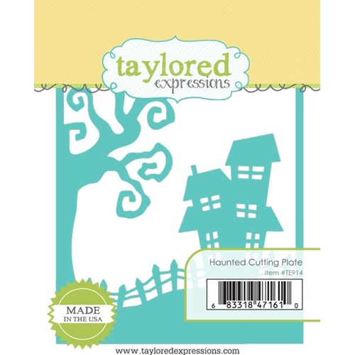 Taylored Expressions HAUNTED CUTTING PLATE Die TE914 Preview Image