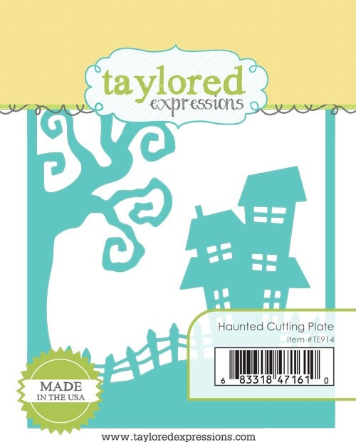 Taylored Expressions HAUNTED CUTTING PLATE Die TE914 zoom image