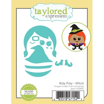 Taylored Expressions ROLY POLY WITCH Die Set TE907