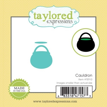 Taylored Expressions Little Bits CAULDRON Die Set TE910
