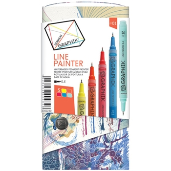 Derwent GRAPHIK LINE PAINTER Palette 1 Set 2302230*