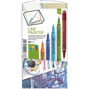 Derwent GRAPHIK LINE PAINTER Palette 2 Set 2302231