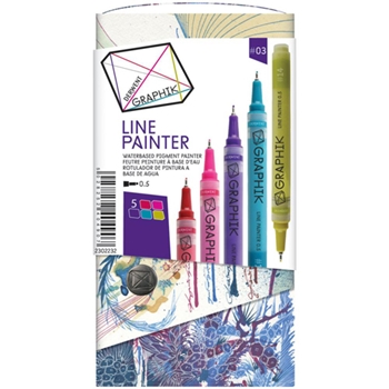 Derwent GRAPHIK LINE PAINTER Palette 3 Set 2302232