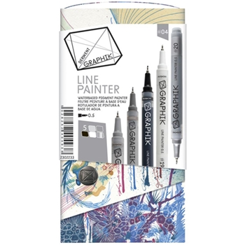 Derwent GRAPHIK LINE PAINTER Palette 4 Set 2302233
