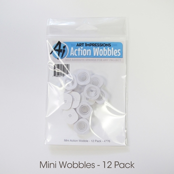 Art Impressions MINI ACTION WOBBLES Twelve Pack 4776