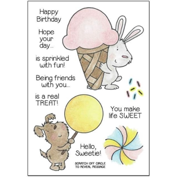 Inky Antics BUNNY AND PUP'S TREATS Clear Stamp Set 11349MC