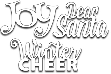 Penny Black Winter Cheer Creative Dies