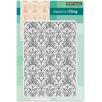 Penny Black Cling Stamp ELABORATE 40-489