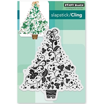 Penny Black Cling Stamp FESTIVE 40-486