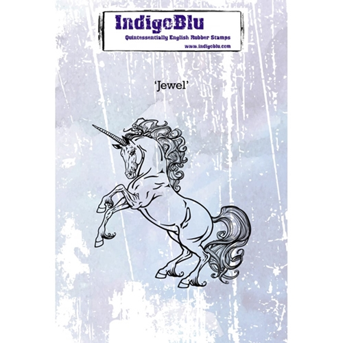 Indigoblu Cling Stamp JEWEL Rubber IND0261 Preview Image
