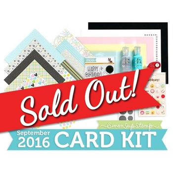 Simon Says Stamp Card Kit of The Month SEPTEMBER 2016 Birthday Surprise CK916