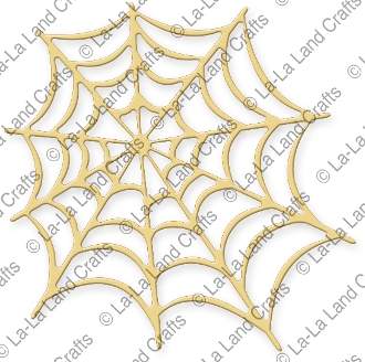 La-La Land Crafts COBWEB Die 8234