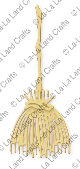 La-La Land Crafts BROOM Die Set 8233