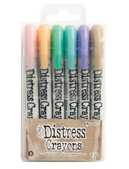 Ranger Tim Holtz Distress Crayons SET 5 TDBK51756 Preview Image