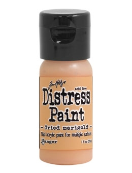 Tim Holtz Flip Top Distress Paint DRIED MARIGOLD Ranger TDF53002