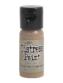 Tim Holtz Flip Top Distress Paint FRAYED BURLAP Ranger TDF53071