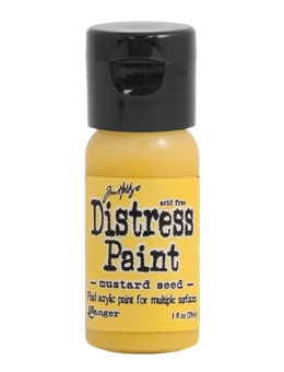 Tim Holtz Flip Top Distress Paint MUSTARD SEED Ranger TDF53125