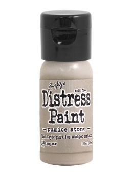 Tim Holtz Flip Top Distress Paint PUMICE STONE Ranger TDF53194