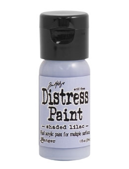 Tim Holtz Flip Top Distress Paint SHADED LILAC Ranger TDF53262