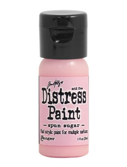 Tim Holtz Flip Top Distress Paint SPUN SUGAR Ranger TDF53286