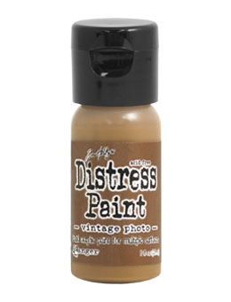 Tim Holtz Flip Top Distress Paint VINTAGE PHOTO Ranger TDF53354
