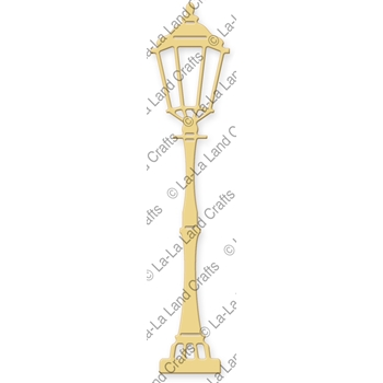 La-La Land Crafts LAMP POST Die Set 8227
