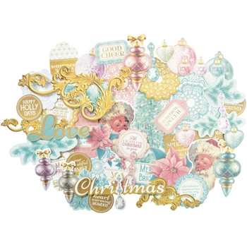 Kaisercraft CHRISTMAS WISHES Collectables Die Cut Shapes CT862